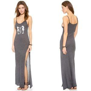 Wildfox Seahorse Cover Up Maxi Dress